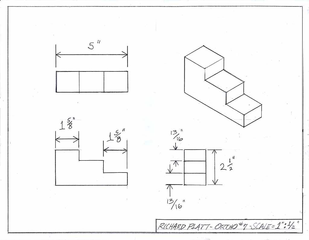 manual orthographic isometric 7